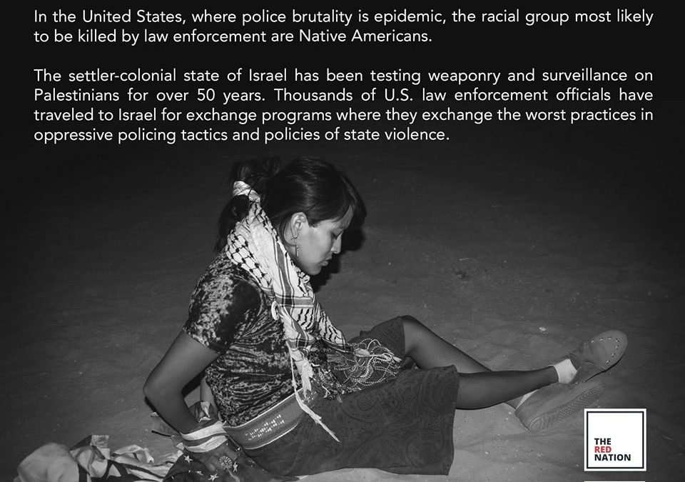 No to Deadly Exchange, Demand Change: Standing Against US-Israel Police Exchange Programs